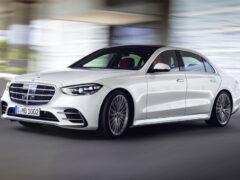 Новый Mercedes-Benz S-класса: интерьерная революция
