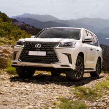 Внедорожник Lexus LX: две новые спецверсии для России
