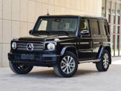 Mercedes-Benz G-класса: теперь с четырьмя цилиндрами