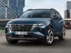Новый Hyundai Tucson дебютировал во множестве вариантов