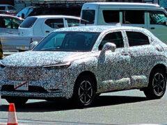 Кроссовер Honda HR-V готовится к смене поколения