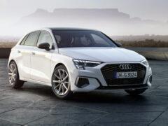 Новый хэтчбек Audi A3 обзавелся газовой версией g-tron