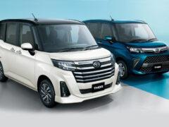 Обновленные Toyota Roomy и Daihatsu Thor: теперь без Танка