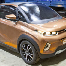КАМАЗ разрабатывает электромобиль: реинкарнация Оки?