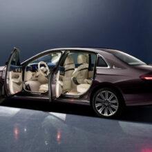 Обновлен длиннобазный Mercedes-Benz E-класса