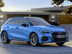 Новый хэтчбек Audi A3 стал подзаряжаемым гибридом