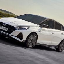 Представлен хэтчбек Hyundai i20 N Line в спортивном стиле