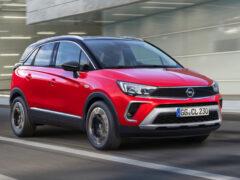 Паркетник Opel Crossland обновлен и едет в Россию