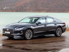 Hyundai Sonata на Автоторе: сварка, окраска и новые комплектации