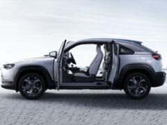 Паркетник Mazda MX-30: «мягкий» гибрид вместо электромобиля