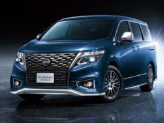 Минивэн Nissan Elgrand: рестайлинг и только богатые версии
