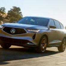 Кроссовер Acura MDX сменит имидж в новом поколении