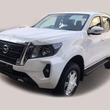 Обновленный пикап Nissan Navara подловили без камуфляжа