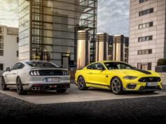 Ford Mustang Mach 1 с атмосферным V8 добрался до Европы