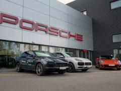 В России заработал сервис аренды автомобилей Porsche Drive