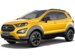 Ford EcoSport Active для Европы рассекретили раньше срока