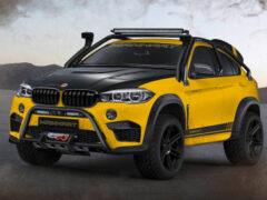 BMW X6 M подготовили к покорению бездорожья