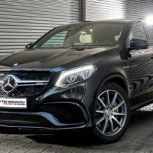 Mercedes GLE Coupe раскачали до 702 л.с.