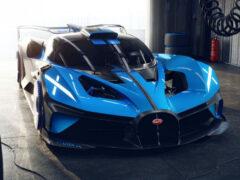 Bugatti Bolide похвастал рекордными характеристиками