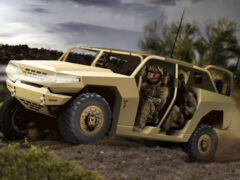 Kia разрабатывает аналог военного Хаммера