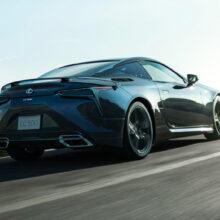 Представлено купе Lexus LC Aviation с особой аэродинамикой