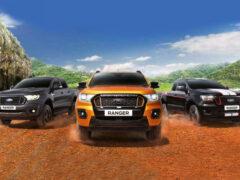 Ford Ranger и Everest обновлены синхронно