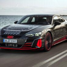 Audi RS e-tron GT станет первым электромобилем RS-гаммы