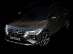 Новый Hyundai Tucson N Line и «заряженная» Elantra N засветились на тизерах