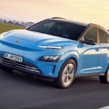 Кроссовер Hyundai Kona Electric обновлен отдельно от версий с ДВС