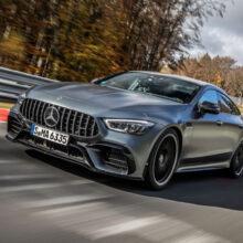 Mercedes-AMG GT 63 S побил рекорд Панамеры на Нюрбургринге