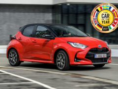 Автомобилем года — 2021 стала Toyota Yaris