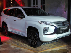 Обновленный Mitsubishi Pajero Sport: цены в России