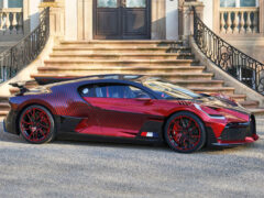 Эксклюзивный гиперкар Bugatti Divo Lady Bug и 1600 ячеек