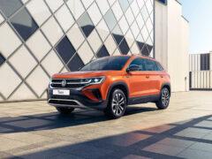 Кроссовер Volkswagen Taos для России: первая информация