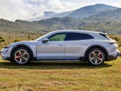 Универсал Porsche Taycan Cross Turismo: серийная версия