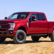 Тяжелые пикапы Ford Super Duty обновлены во второй раз