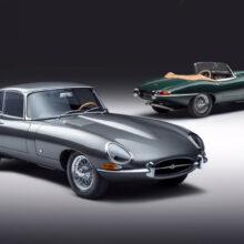 Серия Jaguar E-Type 60 Collection отметит юбилей модели