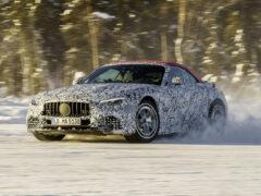 Новый Mercedes-AMG SL будет полноприводным