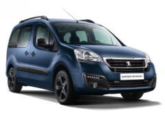 Пассажирский Peugeot Partner Crossway для России: цены