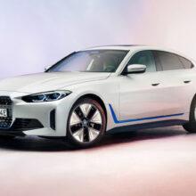 Электрический лифтбек BMW i4 показан в серийном виде