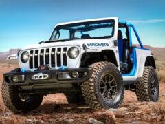 Электрический Jeep и еще три машины для Пасхального сафари