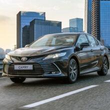 Обновленная Toyota Camry для России: подробности и цены