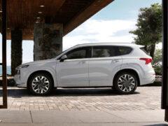 До России добрался Hyundai Santa Fe в топ-версии Calligraphy