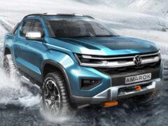 Будущий Volkswagen Amarok: новое изображение