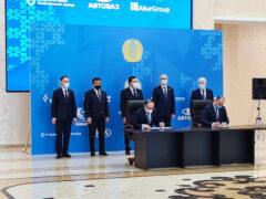 АВТОВАЗ сменил производственную площадку в Казахстане