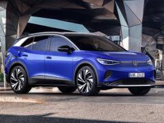 Кроссовер Volkswagen ID.4 вышел на европейский рынок