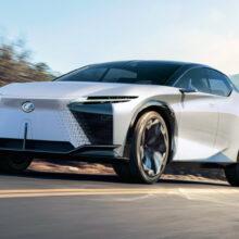 Lexus LF-Z Electrified: второй шаг к серийному электромобилю