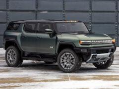 Внедорожник GMC Hummer EV SUV составил компанию пикапу