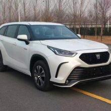Под именем Toyota Crown будут выпускать кроссовер