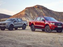 Wolftrak и Stormtrak: новые спецверсии пикапа Ford Ranger